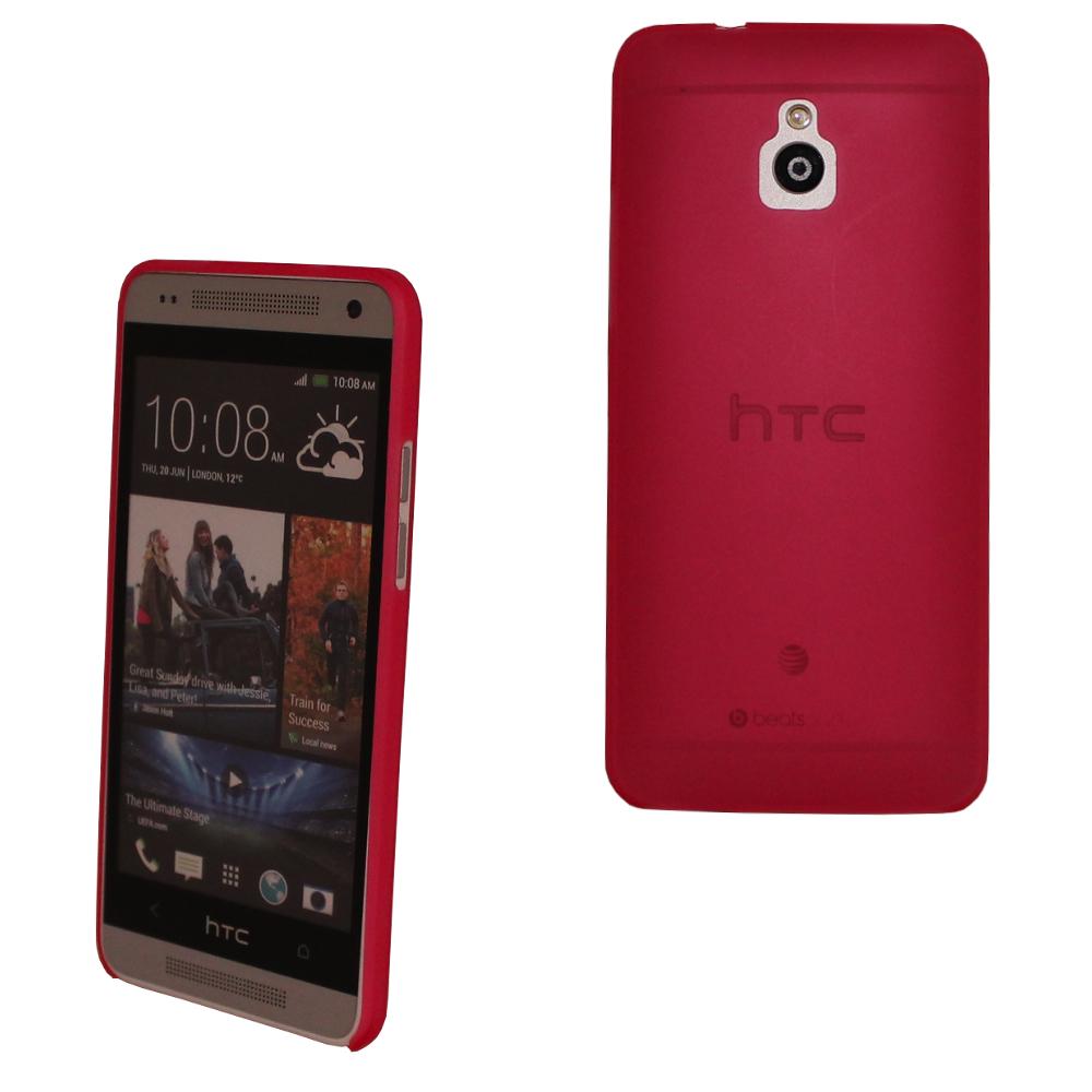 ULTRA-SLIM-Case-0-3-mm-SCHUTZ-HULLE-COVER-Tasche-Deckel-FUR-HTC-ONE-MINI-M4-Rot