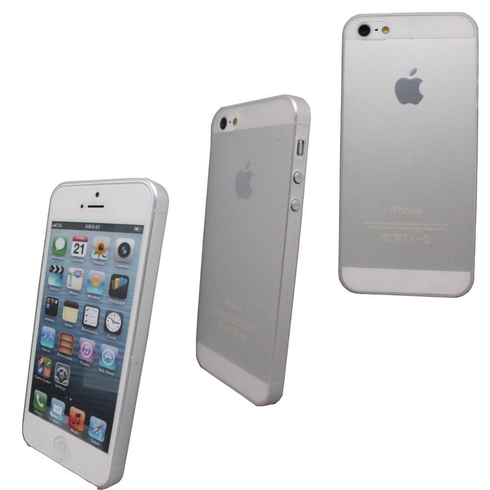 ULTRA-SLIM-Case-SCHUTZ-HULLE-COVER-Akku-Deckel-fuer-Apple-IPhone-5-5S-S-Weiss-Etui
